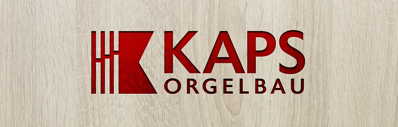 Orgelbau Kaps neue Logo 2021