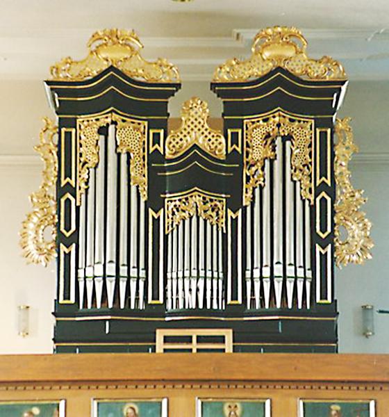 Orgelbau Kaps, Neubauten, St. Vitus, Kirchroth