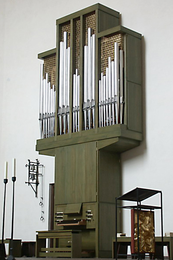 Orgelbau Kaps, Neubauten, Leiden Christi, München-Obermenzing