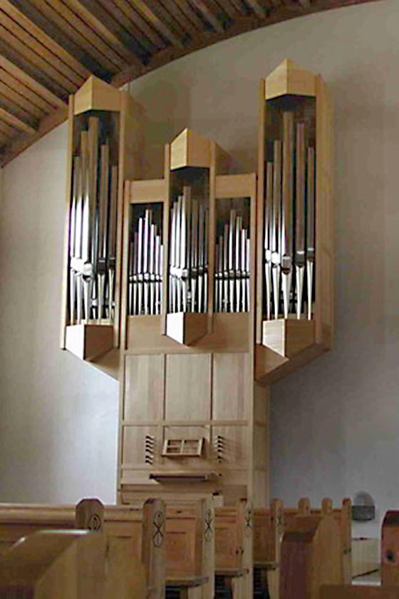 Orgelbau Kaps, Neubauten, St. Johannes, Lochham