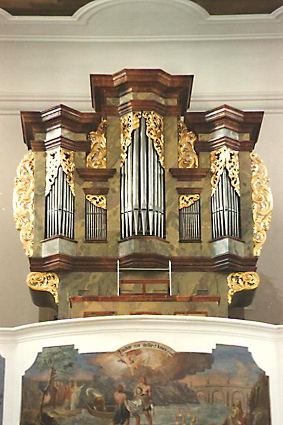Orgelbau Kaps, Neubauten, St. Tibberius, Münster/Steinach