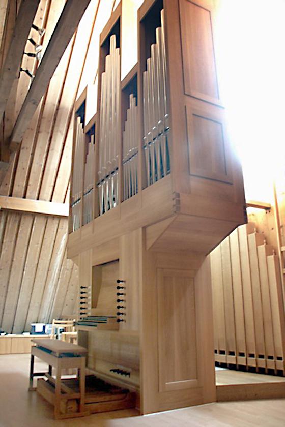 Orgelbau Kaps, Neubauten, Evangelischen Friedenskirche, Eichenau