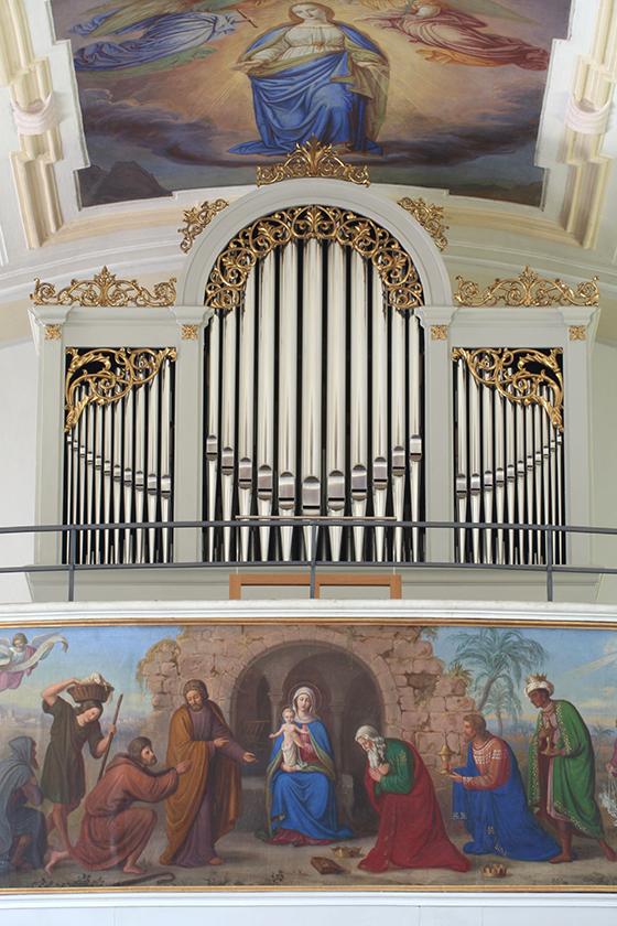 Orgelbau Kaps Neubauten Mariä Heimsuchung, Waging