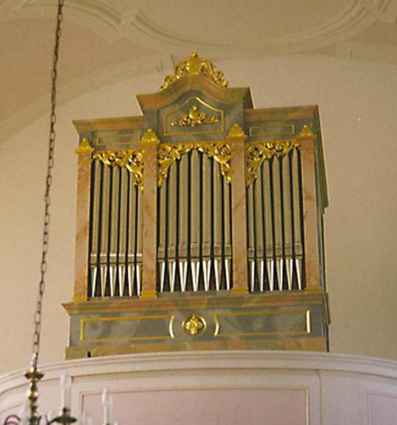 Orgelbau Kaps Unserer Lieben Frau, Öberau