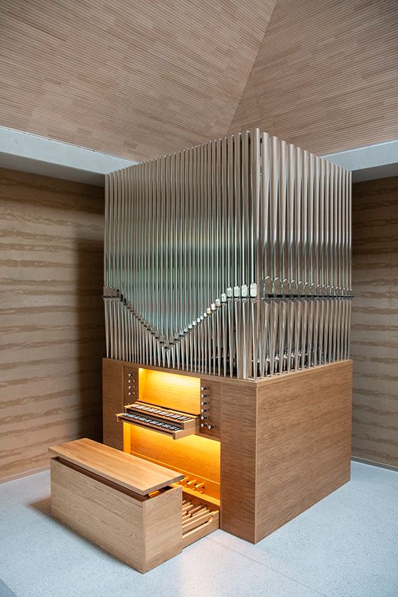 Orgelbau Kaps Neuapostolische Kirche München Sendling