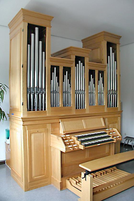 Orgelbau Kaps, Neubauten, Camerloher Gymnasium, Freising