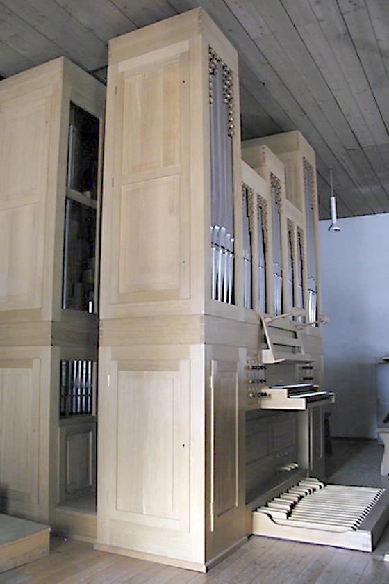 Orgelbau Kaps, Neubauten, St. Nikolaus, Neuried