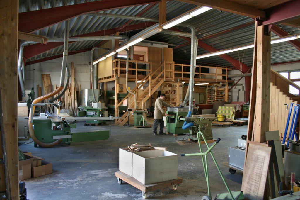 Orgelbau Kaps Werkstatt