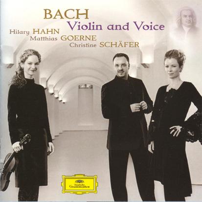 Orgelbau Kaps - CD - Bach Violin and Voice