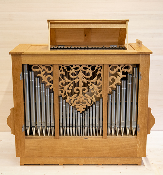 Orgelbau Kaps, Leihinstrumente, Truhenorgel