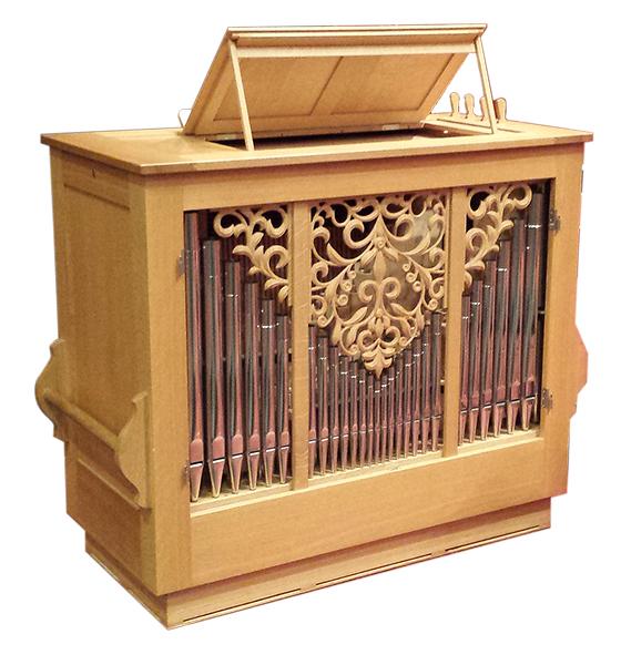 Orgelbau Kaps Leihinstrumente Truhenorgel