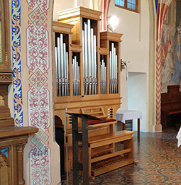 Orgelbau Kaps Opus 5 Altenheim Germering