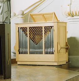 Orgelbau Kaps Leihinstrument Truhenorgel