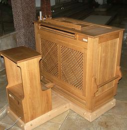 Orgelbau Kaps, Truhenorgel, St. Emmeram, München