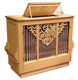 Orgelbau Kaps, Opus 28, Truhenorgel, Leihinstrumen