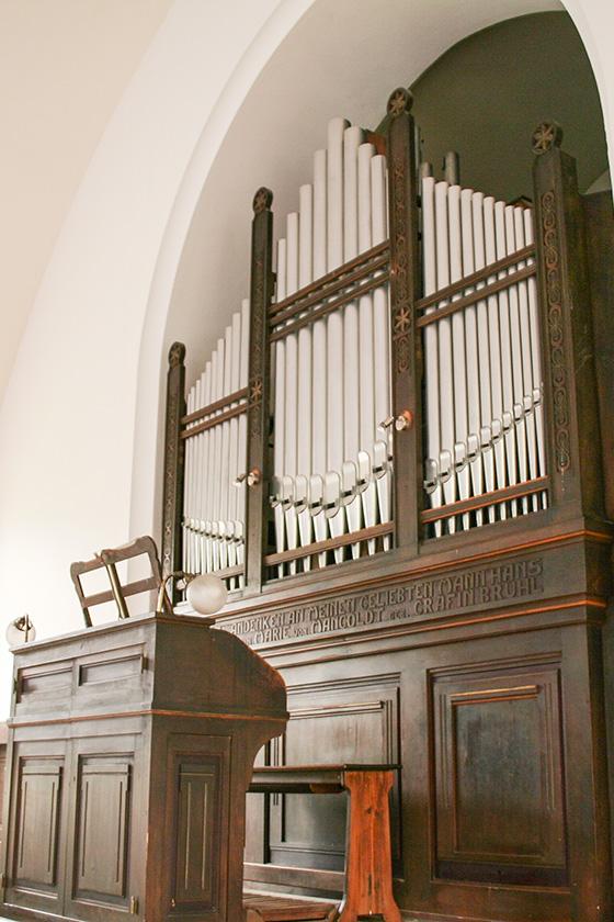 Orgelbau Kaps, Restaurierung, Christuskirche, Innsbruck